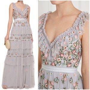 🌟HPx2🌟NWT NEEDLE & THREAD WHIMSICAL GOWN